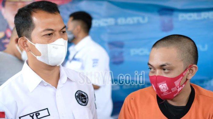 Polres Batu Bekuk Pekerja Bangunan Edarkan 75 Gram Sabu, Ngaku Cuma Kurir