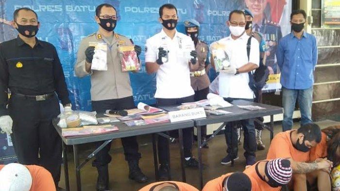 Selama 2 Bulan, Polisi di Batu Sita Narkoba Senilai Rp 142,7 Juta