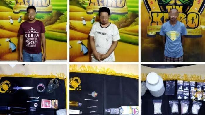 Polisi Ringkus 3 Pengedar Sabu dan Pil Koplo di Lumajang, Satu Pelaku Simpan Sabu di Gulungan Tikar