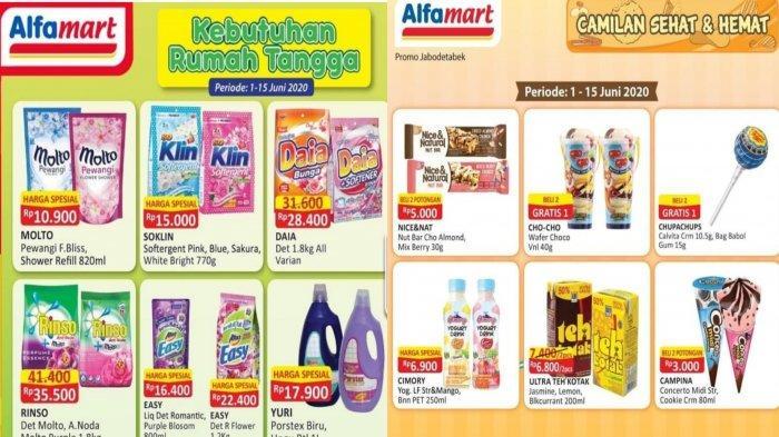 Katalog Promo Alfamart dan Indomaret 13 Juni 2020: Diskon Sabun, Popok Bayi hingga Camilan