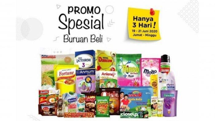 Katalog Promo Alfamart dan Indomaret Jumat 19 Juni 2020: Promo 3 Hari Diskon Shampo Hingga Indomie