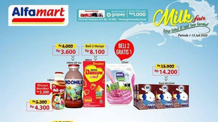 Katalog Promo Alfamart dan Indomaret Terbaru 5 Juli 2020: Diskon Camilan, Susu, hingga Minuman Segar
