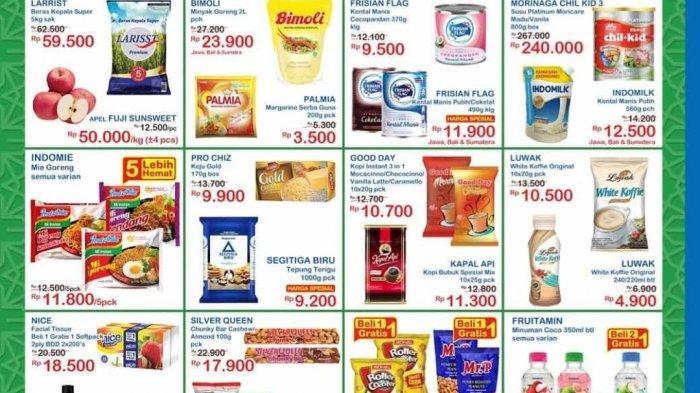 Katalog Promo Alfamart & Indomart Hari Ini 1 Mei 2020, Diskon Kebutuhan Dapur hingga Pulsa Tri
