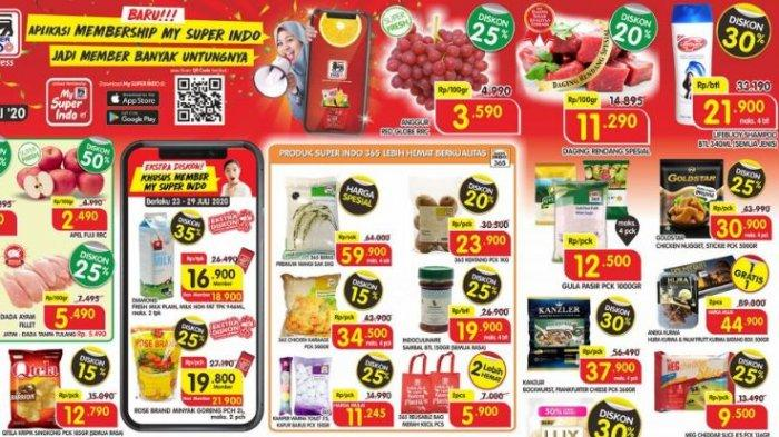 Promo Superindo Hari ini Hingga 26 Juli 2020: Belanja Tetap Hemat Produk Beras hingga Susu