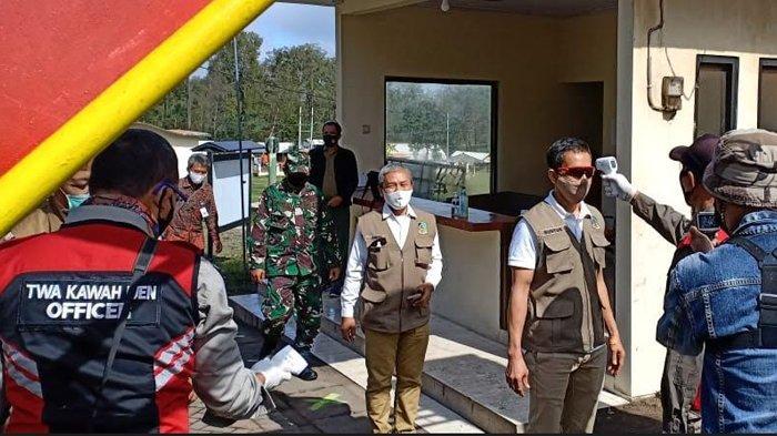 Kawah Ijen Banyuwangi Gelar Simulasi Pra Kondisi New Normal