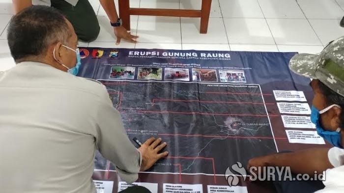 Mulai Kemarin Warga Jember Mendengar Suara Gemuruh dari Gunung Raung, BPBD Petakan 14 Titik KRB