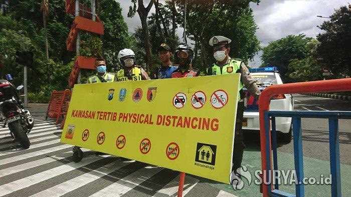 247 Ruas Jalan se-Jatim Ditutup Selama Physical Distancing, Polda Jatim Sebut Angka Kecelakaan Turun