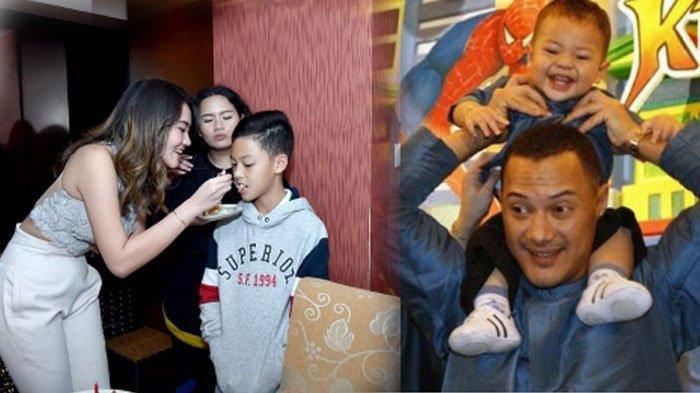 Foto-Foto Keanu Massaid Putra Adjie Massaid & Angelina Sondakh, Berusia 10 Tahun & Mirip Ayahnya