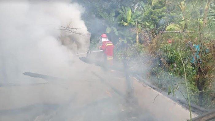 Rumah Lansia di Kabupaten Bojonegoro Ludes Terbakar, Diduga Karena Korsleting Listrik
