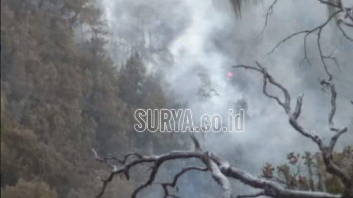 BNPB Turunkan Helikopter Untuk Padamkan Kebakaran Gunung Arjuno yang Kian Meluas