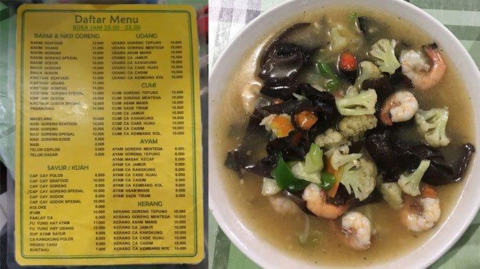 Kebalikan dari Bu Anny, Kini Viral Warung di Jogja Jual Cap Cay Seafood Cuma Rp 10 Ribu per Porsi