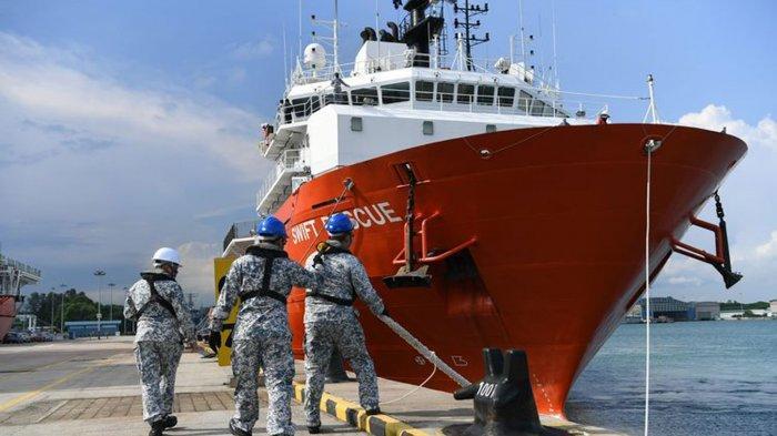 Kecanggihan Kapal Singapura dan Malaysia yang Membantu Pencarian KRI Nanggala 402 Hilang Kontak
