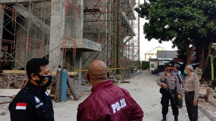 Polisi Terus Usut Laka Kerja Lift Proyek RSI Unisma, 15 Saksi Telah Diperiksa