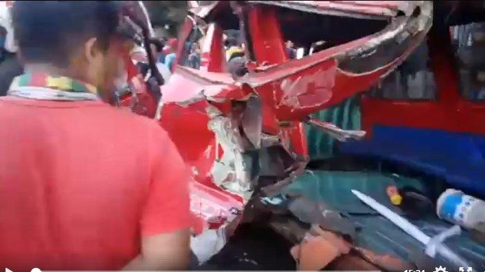 Kecelakaan Malang - Inilah Sopir Nahas yang Membuat 11 Kendaraan Tabrakan dan 4 Orang Tewas