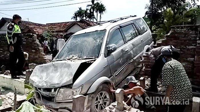 Duda Tulungagung Kencani Wanita, Mobil Terjun ke Makam dan Berakhir Kematian