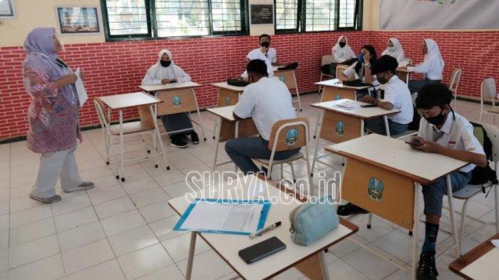 Pembelajaran Tatap Muka SMKN 2 Surabaya Mulai Tambah Kapasitas Siswa