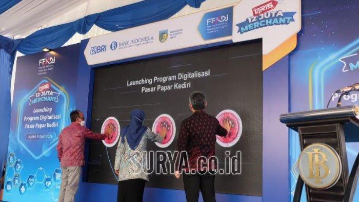 Kabupaten Kediri Jadi Pilot Project Fitur Website Pasar