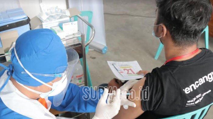 137.440 Warga Kota Kediri Telah Menjalani Vaksinasi Covid-19
