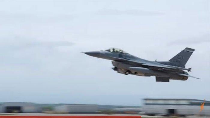 Kronologi 2 Jet Tempur F-16 TNI AU Sergap Pesawat Asing dan Kerahkan Pasukan Paskhas Saat Simulasi