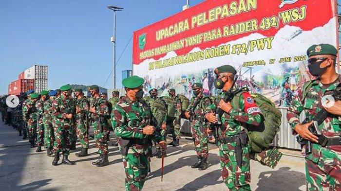 Kehebatan Pasukan Yonif Para Raider 432/WSJ yang Selesai Bertugas Amankan Daerah Rawan KKB Papua