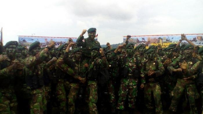 Kehebatan Pasukan Yonif Raider 613/Raja Alam yang Dikirimkan Saat KKB Papua Semakin Membabi Buta