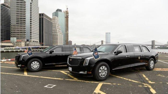 Kehebatan Spesifikasi Mobil Kepresidenan Joe Biden, Pernah Dipakai Donald Trump, Berjuluk The Beast