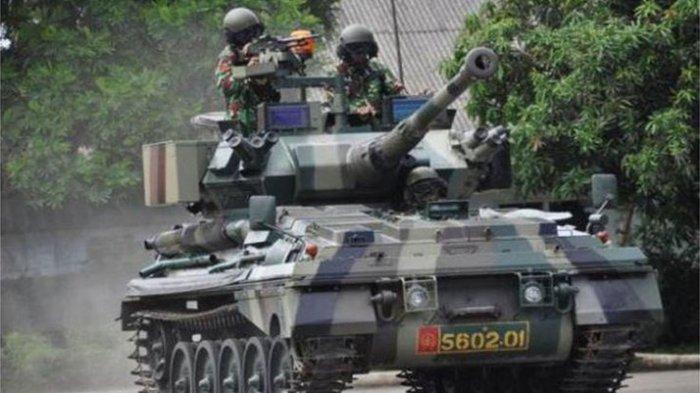 Kehebatan Tank Scorpion yang Diterjunkan Mayjen TNI Dudung Abdurachman dalam Latihan Uji Siap Tempur