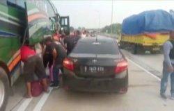 Detik-detik Kejar-Kejaran Bus Pembawa 10 Kg Sabu vs Polisi Sejauh 50 KM, Ditembak Baru Berhenti