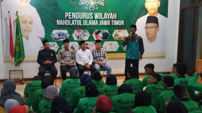 Berangkatkan Atlet Pagar Nusa Jatim ke Kerjurnas, Pemprov Janji Perhatikan Cabor Pencak Silat