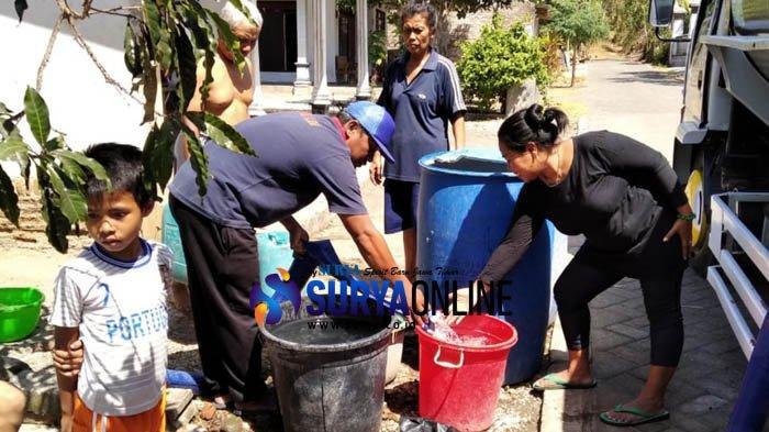 Warga Sumberagung Krisis Air Bersih, Tak Masuk Data Desa Terdampak Kekeringan BBPD Tulungagung