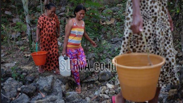 Desa-desa di Pacitan, Trenggalek dan Pasuruan Mulai Alami Krisis Air Bersih, Terdampak Kekeringan