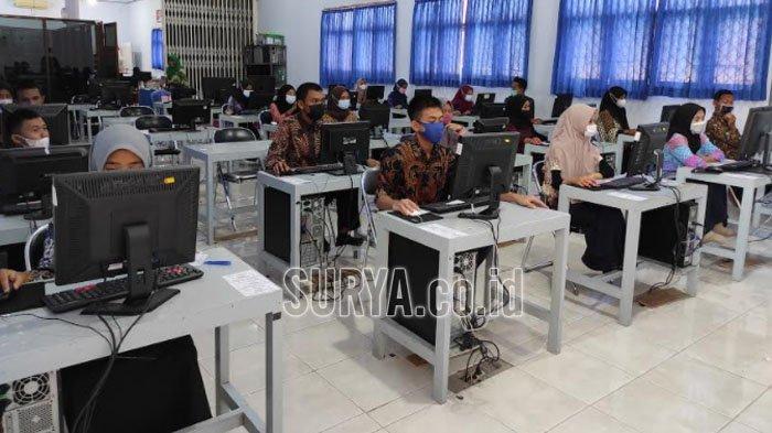 Petakan Kualitas Sekolah, Hari Ini Siswa SMA di Kabupaten Ponorogo Ikuti EHB