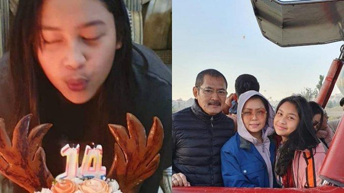 Potret Ulang Tahun Khirani saat Wabah Corona, Mayangsari & Bambang Trihatmodjo Bikin Pesta Sederhana
