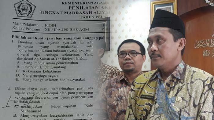 Muncul Soal Ujian Bermuatan Khilafah di Kediri, begini Reaksi Anggota DPRD Jatim