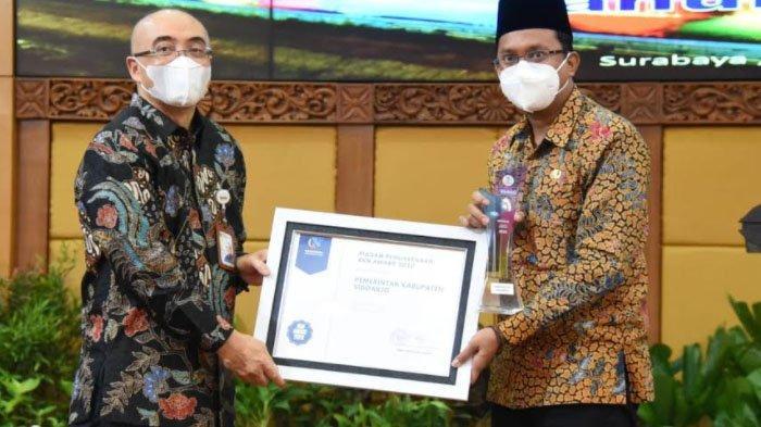 Kabupaten Sidoarjo Raih Penghargaan BKN Award 2020, Bupati Muhdlor Ucap Syukur