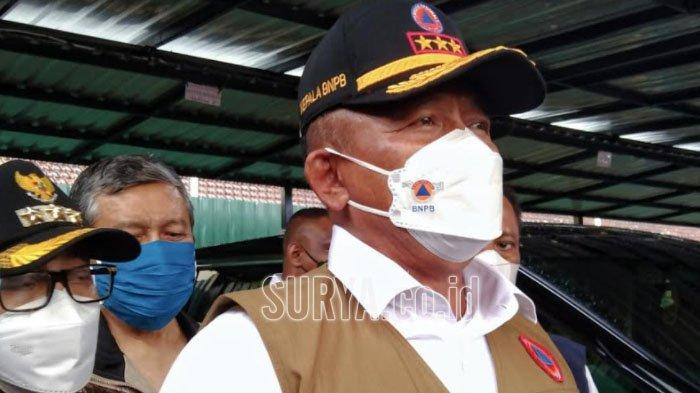 Kepala BNPB Tinjau RS Lapangan Idjen Boulevard Kota Malang, Ingatkan Protokol Kesehatan