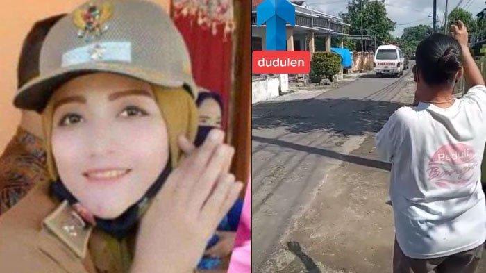 VIDEO Warga Meratapi Jenazah Retno Setyowati Kades Termuda di Madiun yang Meninggal Karena Covid-19
