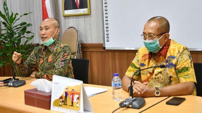 TemuanCak Ji saat Sidak Pelaksanaan PPDB SMAN dan SMKN di Tengah Pandemi