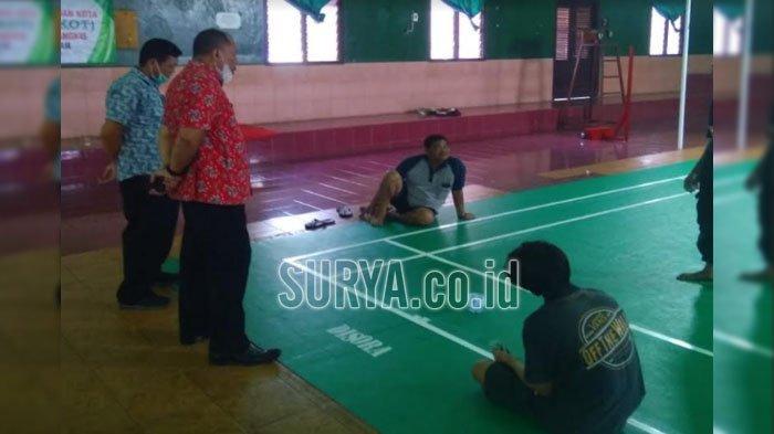 Dispora Kota Blitar Tetap Membuka Fasilitas Olahraga saat Libur Lebaran 2021