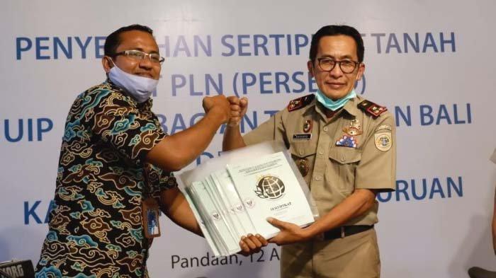 Dukung Pengamanan Aset Proyek Strategis Nasional, BPN Terbitkan Sertipikat Aset PLN