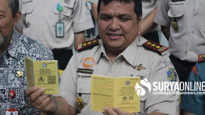 Kepala KKP kelas I Surabaya Berbagi Pengalaman Jadi Pasien Positif Corona Hingga Sembuh