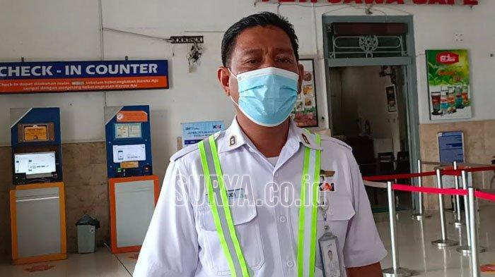 Kepala Stasiun Kereta Api Kediri Wahyudi Cahyadi