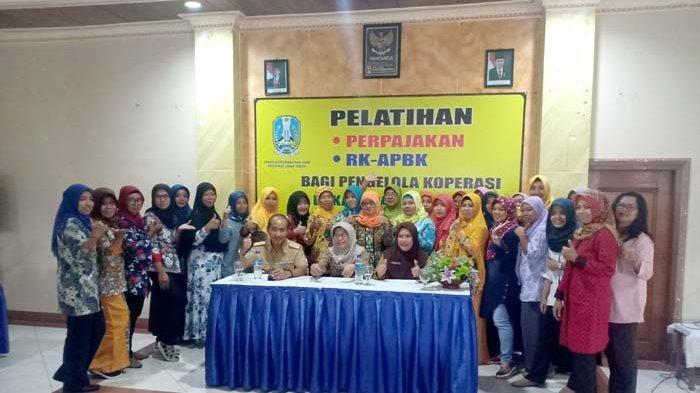 60 Koperasi di Pacitan Belajar Perpajakan dan RK-RAPBK di UPT Pelatihan Koperasi dan UKM Jawa Timur