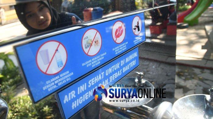 Instal Keran Air Minum di 30 Titik, PDAM Surya Sembada Surabaya Ajak Warga Lebih Peduli Lingkungan