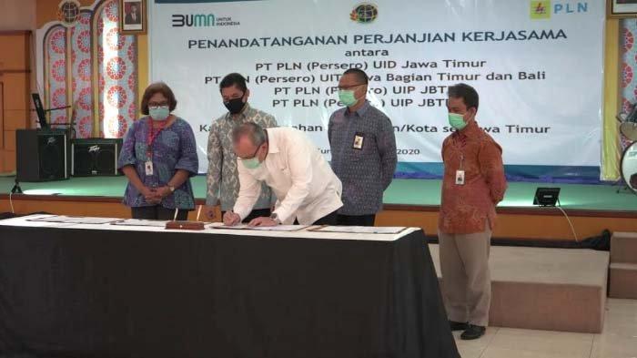 Sinergi dan Optimalisasi Sertifikasi Aset, PLN Kerjasama dengan 39 Kantor Pertanahan se-Jawa Timur
