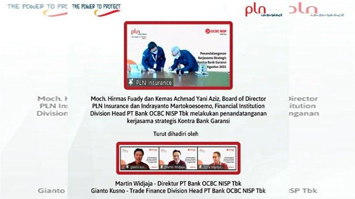 PT Asuransi Perisai Listrik Nasional Gandeng OCBC NISP Untuk Produk Kontra Bank Garansi