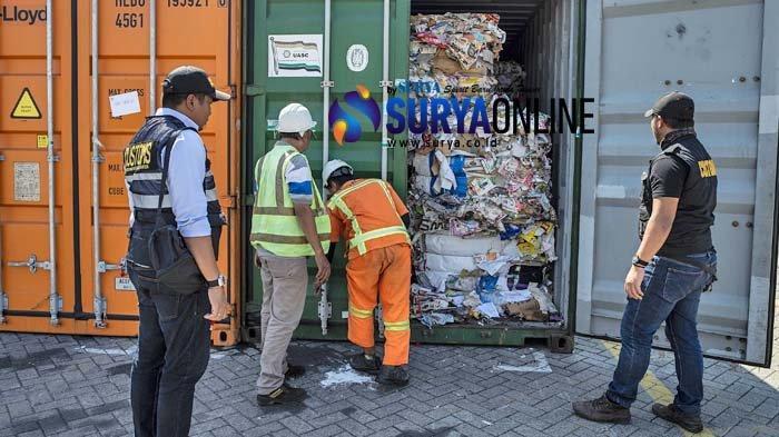 Galeri Foto Kertas Bekas Impor dari Australia yang Diduga Terkontaminasi Limbah B3