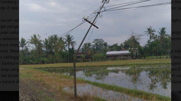 Bencana 5 Menit di Blitar, Angin Puting Beliung Menjebol Dinding Sekolah; Belasan Rumah Berantakan - kerusakan-akibat-angin-di-blitar2.jpg