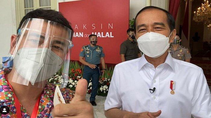 Kesamaan Efek Samping Vaksin COVID-19 yang Dirasakan Presiden Jokowi dan Raffi Ahmad, Apa Saja?