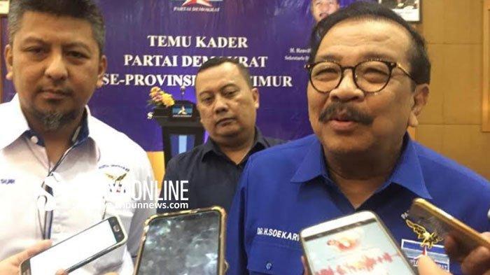 Pakde Karwo Sebut Partai Demokrat sudah Kirim 3 Nama Calon Wakil Ketua DPRD Jawa Timur (Jatim)